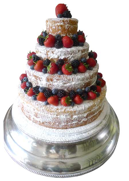 Naked cake genuine cakes