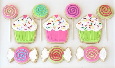 Cup cakes e balas 1